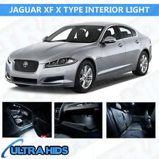 JAGUAR XF X TYPE 5 PIECE WHITE INTERIOR UPGRADE ERROR FREE LED LIGHT KIT SMD