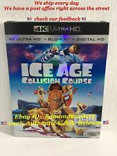 Ice Age 5: Collision Course (4K Ultra HD+Blu Ray+Digital HD) New Sealed!!