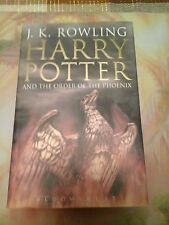Harry Potter and the Order of the Phoenix British Version 1st Edition