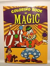 Sneaky Clown Magic Coloring Book - Great Magic for Children's Shows!