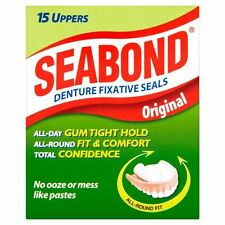 Seabond Dental Fixative Original 15 Uppers