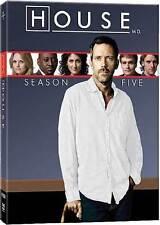 House M.D. Season Five (DVD, 2009, 5-Disc Set)