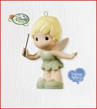 2010 Hallmark Precious Moments TINKER BELL Porcelain Ornament Disney *Priority
