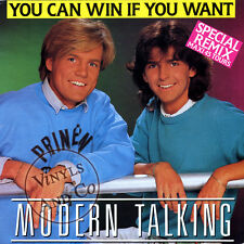 """MODERN TALKING - You Can Win If You Want [Special Remix] MAXI 45 TOURS ITALO 12"""""""