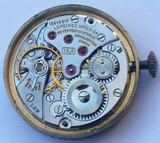 Longines 19.4 LXW 17 Jewel Vintage Wrist Watch Ticking Movement and Dial F4714