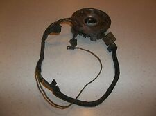 Used Ski Doo snowmobile stator magneto assembly with points, condensors and coil