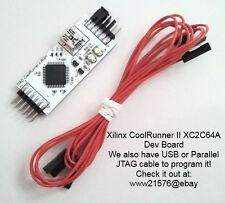 Xilinx CoolRunner II XC2C64A Dev Board Core Module with on board extra component
