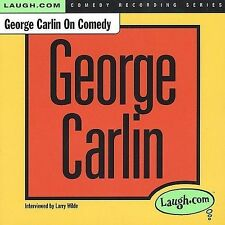 George Carlin on Comedy by George Carlin (CD, May-2005, Laugh.com)