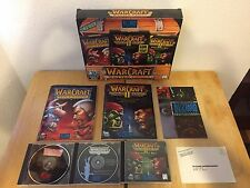 WarCraft Battle Chest Complete with Original Box and Inserts (Windows/Mac, 1996)