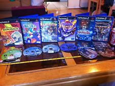 Ratchet Donald Duck Dinosaur Narnia Spyro Mada PS2 Playstation 2 Games Bundle