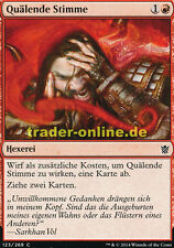 4x Quälende Stimme (Tormenting Voice) Khans of Tarkir Magic