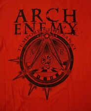 ARCH ENEMY cd lgo WAR ETERNAL Official RED SHIRT SML New OOP tempore nihil sanat