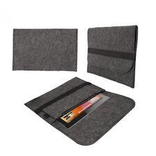 eFabrik Tasche für Medion Lifetab P10341 Schutz Hülle Sleeve Cover Filz grau