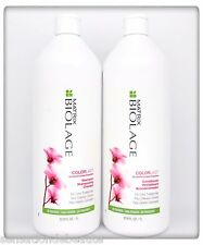 MATRIX Biolage Color Last Shampoo & Conditioner 1L 33.8 Fl oz Duo Fast New Fresh
