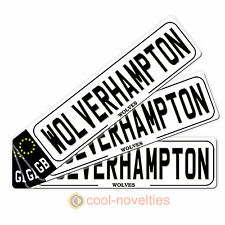 """GREAT BOOKMARK GIFT FOR FOOTBALL FANS """" WOLVERHAMPTON """" GIFT FOR FOOTBALL FANS"""
