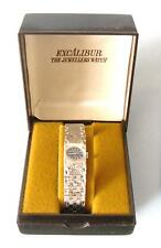 ideal gift amazing watch by excalibur vintage retro