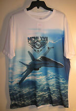 Ecko Unltd T shirt F-18 Fighter Jet NWT L