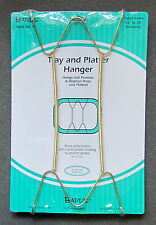Tray & Platter Hanger, Plate Hanging Wire, Displays Plates 16'-30' in diameter