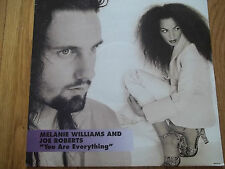 "MELANIE WILLIAMS & JOE ROBERTS - YOU ARE EVERYTHING 12"" RECORD - COLUMBIA"