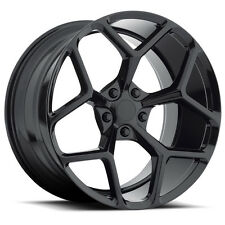 MRR M228 20x10 Chevrolet Chevy Camaro 5x120 Black Wheels Rims (Set of 4)