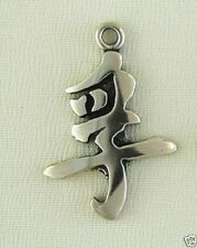 Japanese Kanji Fu Meaning Truth Lapel Pin Jewelry - .925 Sterling Silver -Symbol