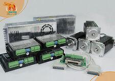 【No Tax】4Axis Nema23 Wantai stepper motor/Schrittmotor 283oz,3A Cnc Laser Cutter