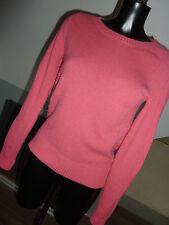 BODEN Size 8 round neck 80% wool bubblegum pink jumper   (73)