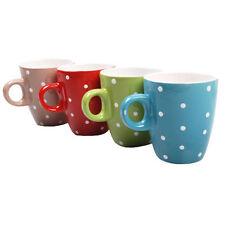 """Tasse """"Dots"""" tasse céramique shabby maison de campagne tasse à café senseo-Bleu"""