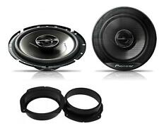 Fiat Stilo 2001-2010 Pioneer 17cm Rear Door Speaker Upgrade Kit 240W