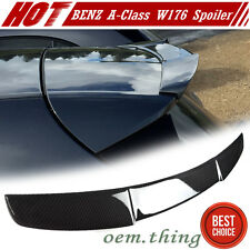 """SHIP OUT TODAY"" Carbon Mercedes Benz W176 Hatchback A-Class Roof Spoiler A180"