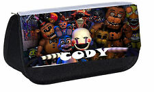 Personalised Five Nights at Freddys Pencil Case Kids Birthday Present Idea