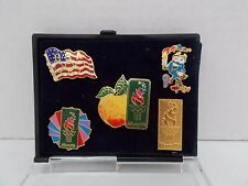 Atlanta 1996 Olympic Pins ~ Set of 5 * New in Case