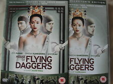 House Of Flying Daggers DVD 2-Disc Set collectors edition, region 2 uk STUNNING