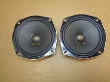 97-04 Corvette C5 BOSE Coupe Rear Speakers 10290828 Pair 6.5""