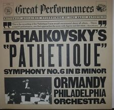 Tchaikovsky's Pathetique Symphony No. 6 in B Minor 33RPM 37768   100116LLE#2