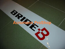 "53"" Bride Windshield decal sticker banner sun strip visor seat gp low JDM d1 max"