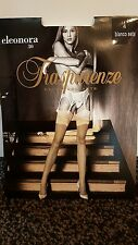 TRASPARENZE NUDE STOCKINGS 30D SIZE 4