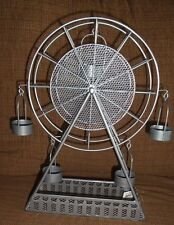 Yankee Candle Tealight Candle Holder Ferris Wheel On The Boardwalk NWT