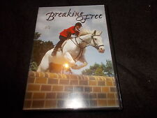 RARE DVD BREAKING FREE Jeremy London Gina Philips 1995 SHOW JUMPING HORSE