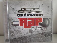 OPERATION RAP mixé par DJ JAMES 5050466-0898-2-3 CD ALBUM
