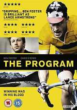 The Program DVD Ben Foster as Lance Armstrong RENTAL EDITION NEW SEALED CHEAPER!