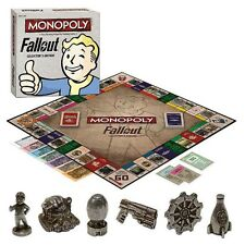 Fallout Collector's Edition Monopoly Board Game USApoly *Factory Sealed*