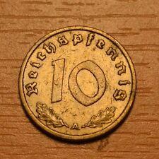 Third Reich 10 reichspfennig 1937 A