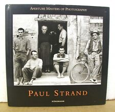 Paul Strand - Aperture Masters of Photography with Mark Haworth Booth 1997 HB/DJ