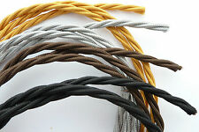 ORIGINAL STYLE WIRE/CABLE/CORD/FLEX FOR HERBERT TERRY ANGLEPOISE LAMPS