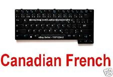Dell Latitude E6430u Keyboard - CF 0CR07W V136425AS1 PK130R82A09 Canadian French