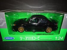 Welly Subaru Impreza WRX STI Black 1/24