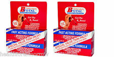 2 x SUBLINGUAL B-TOTAL B12 LIQUID ENERGY DROPS BONUS PAK 2 FL OZ