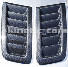 Focus MK2 RS style ABS Carbon effect bonnet vents *FORD PROFILE*