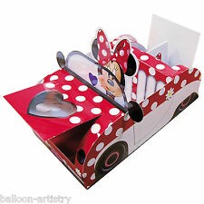 21cm Disney Minnie Mouse Polka Dot Car Children's Party Food Serving Tray
